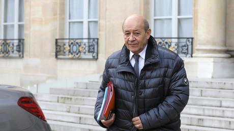 Le ministre des Affaires étrangères Jean-Yves Le Drian. (image d'illustration)