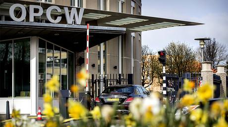 Le siège de l'OIAC à La Hague, aux Pays-Bas, le 16 avril 2018 (illustration)