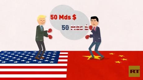 Le Lab Eco, épisode 18 : conflit commercial USA-Chine et agences bancaires