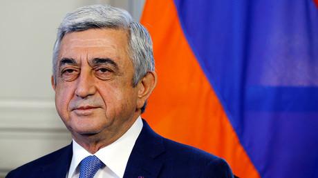 Arménie : le Premier ministre Serge Sargsian démissionne après une vague de manifestations