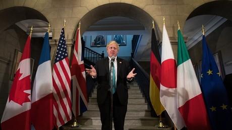 Le G7 monte sur pied un groupe de travail pour surveiller le «comportement malveillant» de la Russie