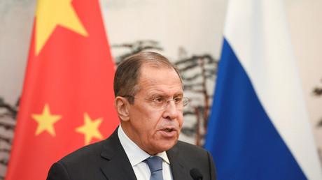 Sergueï Lavrov rencontrait ses homologues chinois le 23 avril, à Pékin