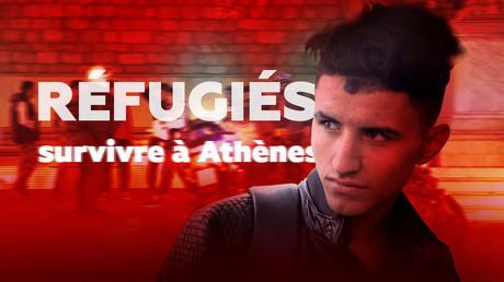 Réfugiés : survivre à Athènes
