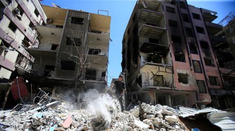 Ruines à Douma