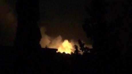 Damas dénonce des tirs de «missiles ennemis» sur des positions militaires