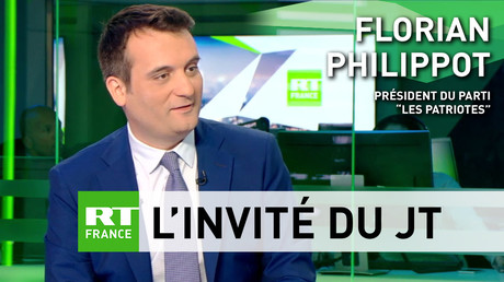 Manifestations du 1er mai, Frexit, identitaires : Florian Philippot s'exprime sur RT France