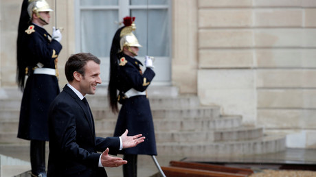 Illustration : Emmanuel Macron à l'Elysée