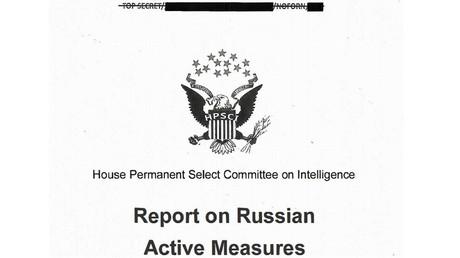 Capture d'écran du rapport du renseignement américain du 22 mars 2018