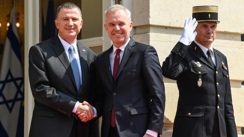 Gaza : «Il n'y a pas de souffrance», lance le président de la Knesset aux députés français