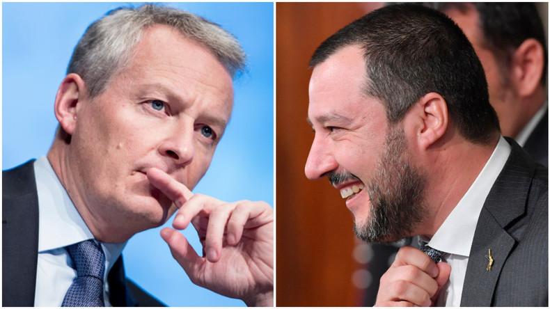 «Les Italiens d'abord !» : Matteo Salvini recadre Bruno Le Maire, qui avait mis Rome en garde
