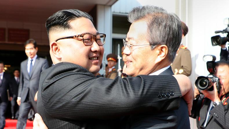 Rencontre surprise entre Kim Jong-un et son homologue sud-coréen