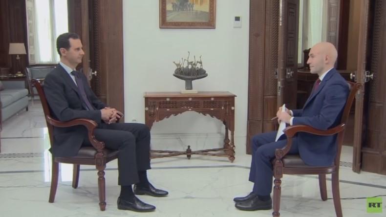 El-Assad à RT : «Les Etats-Unis et leurs marionnettes ont œuvré» à éloigner la fin de la guerre