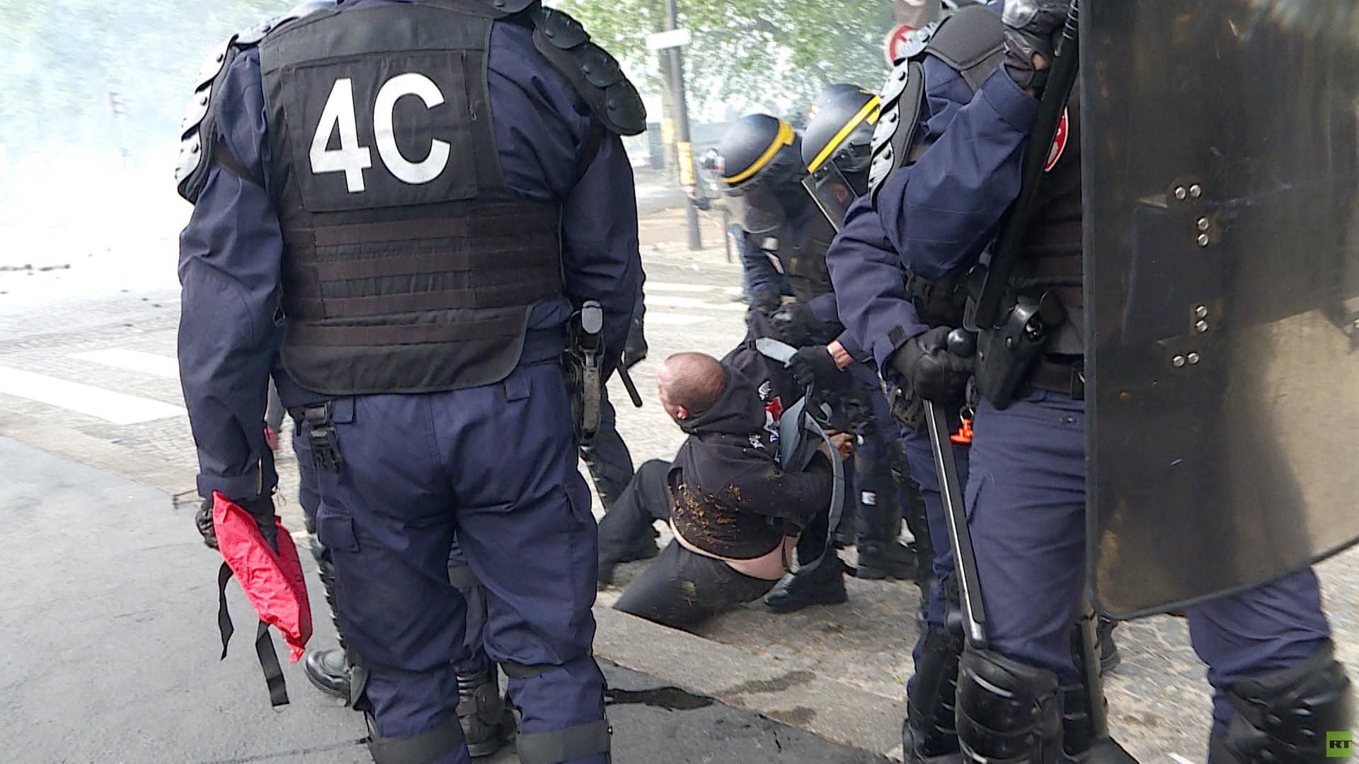 Violences du Premier mai : «Sans doute des bandes d'extrême droite», selon Jean-Luc Mélenchon