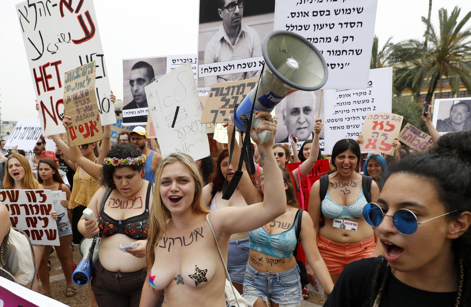 «Ma ch****, mon choix» : «Slut Walk» à Tel-Aviv contre le harcèlement sexuel (IMAGES)