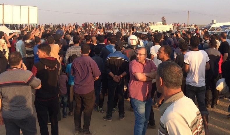 Carnet de bord d'un journaliste au Proche-Orient : journée sanglante à Gaza