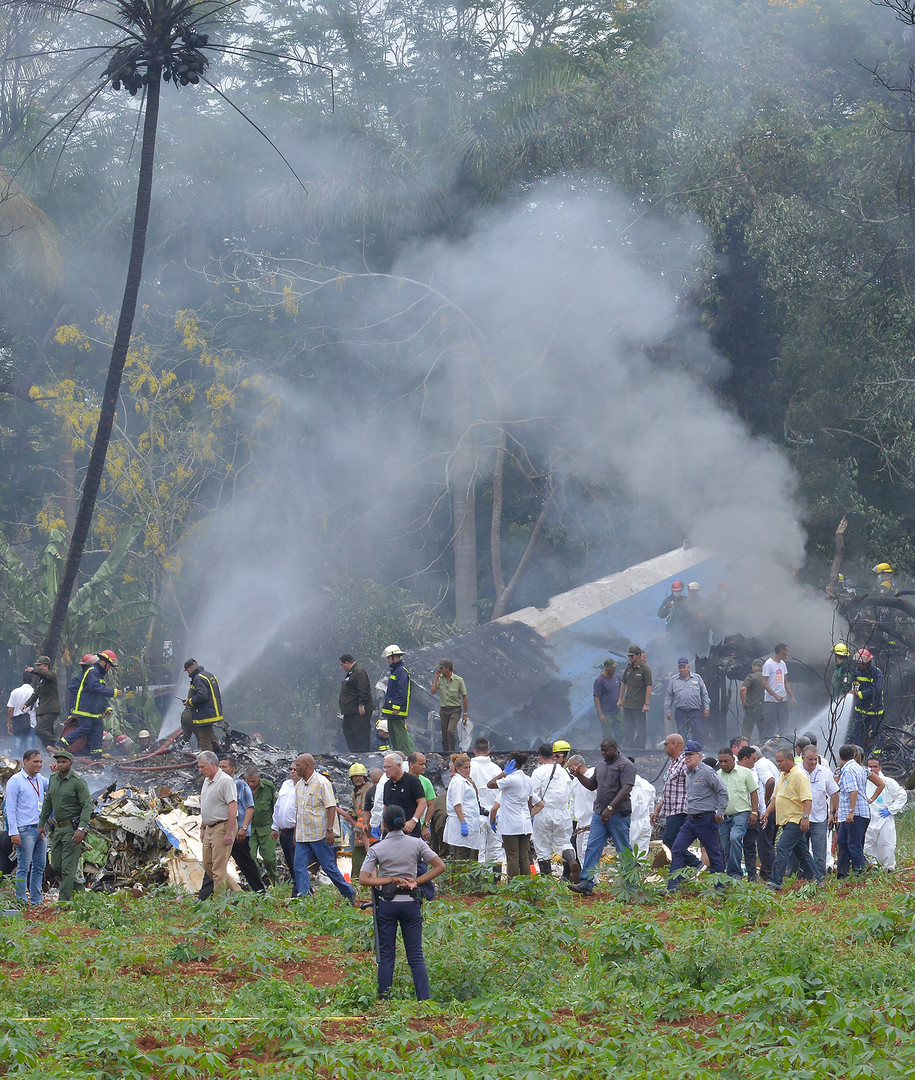 La Havane : les premières images du crash du Boeing 737 (PHOTOS, VIDEO)