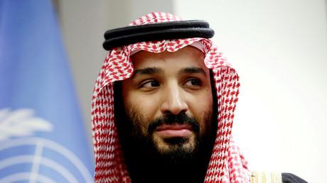 Le prince héritier saoudien Mohamed ben Salmane au siège des Nations unies à New York le 27 mars 2018