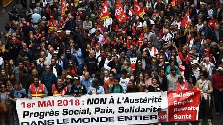 Premier mai : partis politiques et organisations syndicales appellent à défiler partout en France