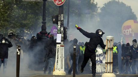 L'Unsa Police déplore des failles dans la gestion de la manifestation du Premier mai 2018 qui a été émaillée de nombreuses violences