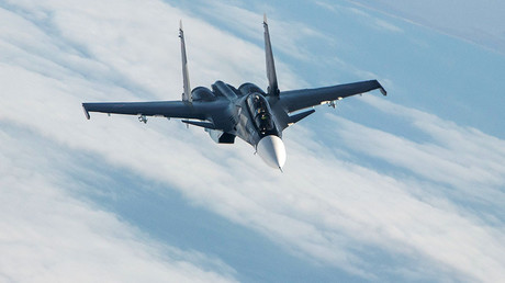 un appareil de combat Sukhoi Su-30SM, illustration