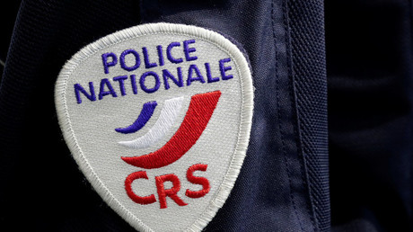 Ecusson des CRS (illustration)