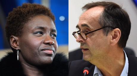 Rokhaya Diallo et Robert Ménard