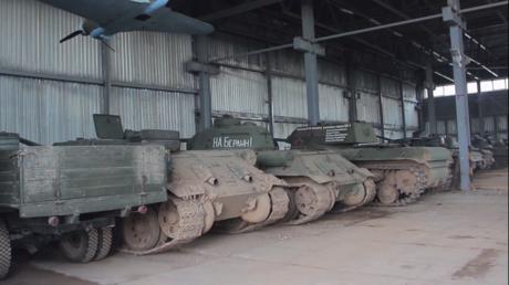 Nouvelle vie pour des chars soviétiques de la Seconde Guerre mondiale
