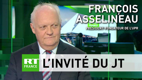 François Asselineau, président fondateur de l'UPR