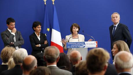 Christine Lazerges, au centre, est présidente de la CNCDH depuis 2012