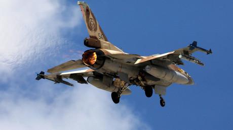 Un F-16 israélien (image d'illustration)