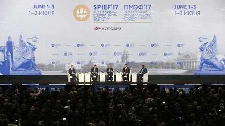 La France mise à l'honneur lors du Forum économique international de Saint-Pétersbourg