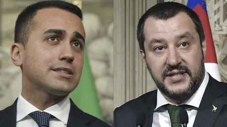 Matteo Salvini et Luigi Di Maio se sont entendus pour négocier un accord de gouvernement