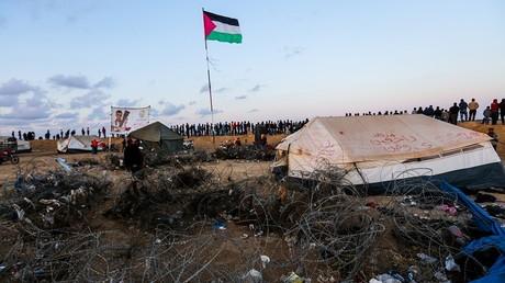 Israël ferme le seul point de passage de marchandises vers Gaza
