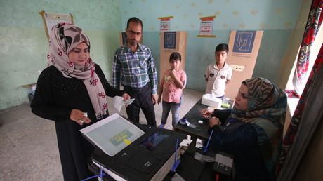 Elections législatives en Irak : les électeurs boudent les urnes