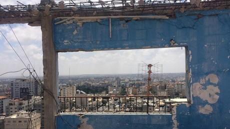 Vue de la ville de Gaza