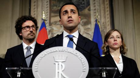 Luigi Di Maio, le chef de file du M5S