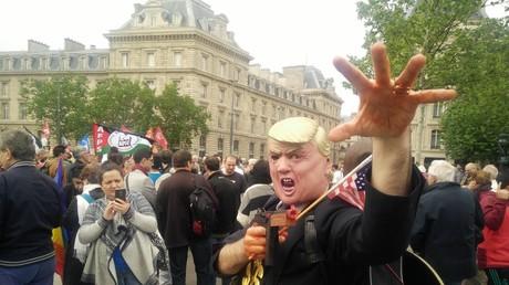 Deux manifestations à Paris pour dénoncer «les massacres en Palestine» (PHOTOS)