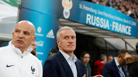Didier Deschamps (au centre) a fait son choix pour le mondial 2018 en Russie