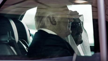 Donald Trump et le roi saoudien Salmane al-Saoud