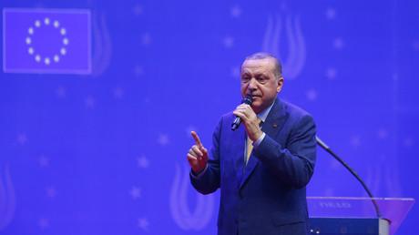 Recep Tayyip Erdogan le 20 mai 2018 à Sarajevo