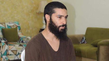 Photographie non datée du djihadiste belge Tarik Jadaoun en Irak.