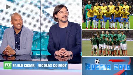 Russia 2018 : Paulo César et Nicolas Cougot