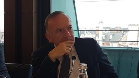 Gattaz déplore les «sanctions délirantes imposées par les Etats-Unis» à la Russie