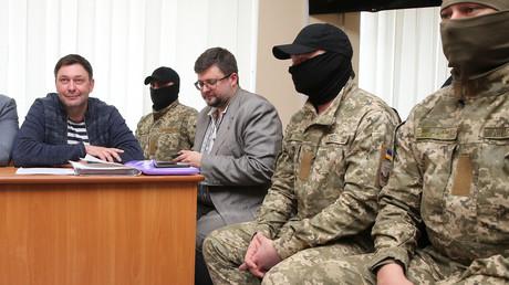 Le rédacteur en chef de RIA Novosti Ukraine, Kirill Vyshinsky subit un interrogatoire en Ukraine après son arrestation