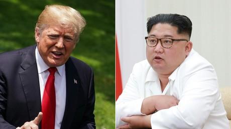 Le président américain Donald Trump et le chef de l'Etat nord-coréen Kim Jong-un. (image d'illustration)