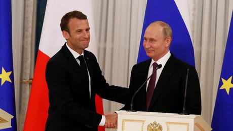 Au Forum de Saint-Pétersbourg, Macron et Poutine célèbrent un «nouveau partenariat»