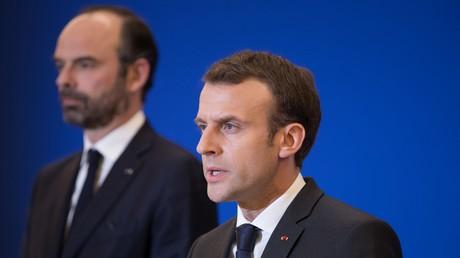 Le Premier ministre Edouard Philippe et le président Emmanuel Macron