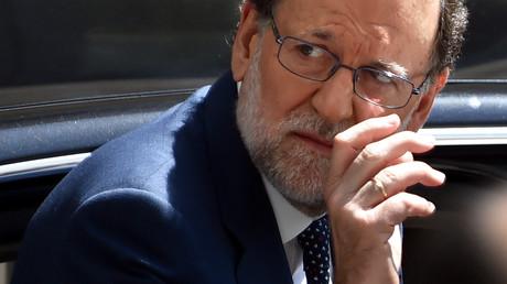 Le chef du gouvernement espagnol Mariano Rajoy est menacé politiquement
