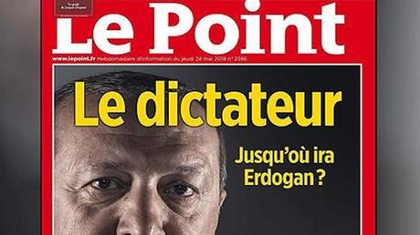 La une qui a provoqué l'ire des partisans de Recep Erdogan
