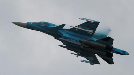 Un bombardier russe Soukhoï Su-34 (illustration)